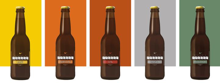 Bieren op fles >